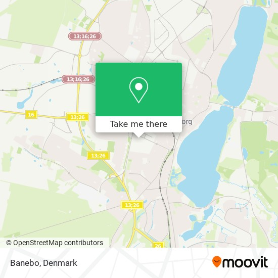 Banebo map