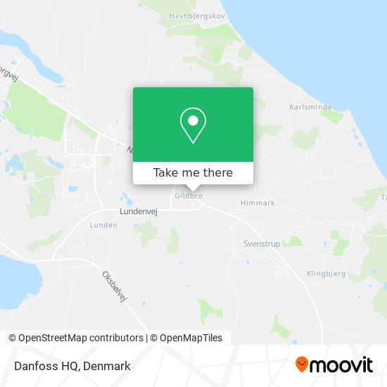 Danfoss HQ map