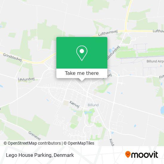 Lego House Parking Karte