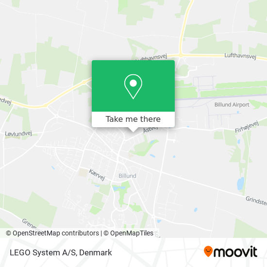 LEGO System A/S map
