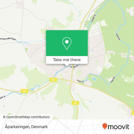 Åparkeringen map