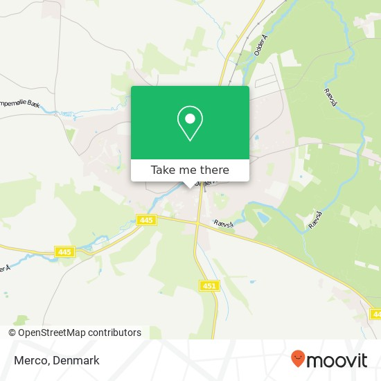 Merco map
