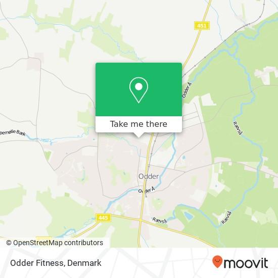 Odder Fitness Karte