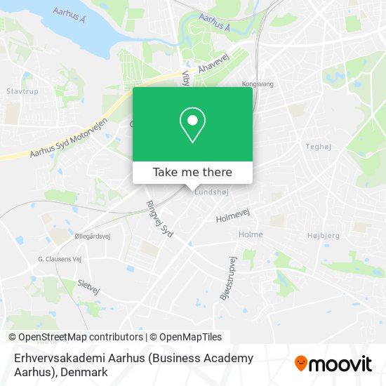 Erhvervsakademi Aarhus (Business Academy Aarhus) map