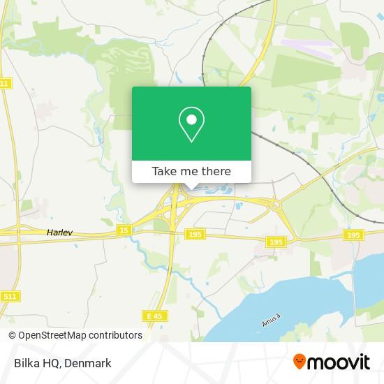 Bilka HQ map
