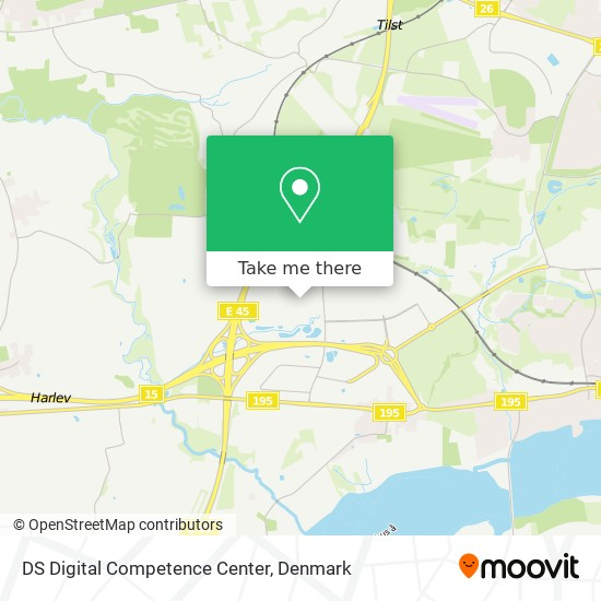 DS Digital Competence Center map