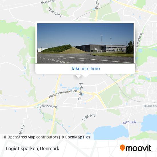 Logistikparken map