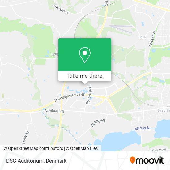 DSG Auditorium map