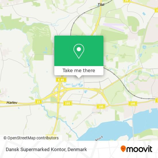 Dansk Supermarked Kontor map
