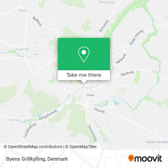 Byens Grillkylling Karte
