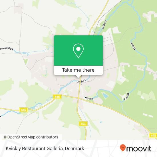 Kvickly Restaurant Galleria, Nørregade 6 8300 Odder map