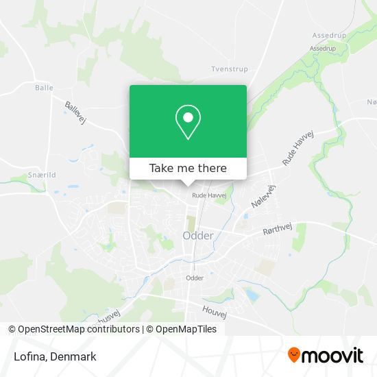 Lofina map
