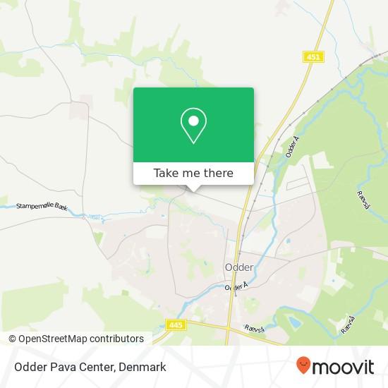 Odder Pava Center Karte