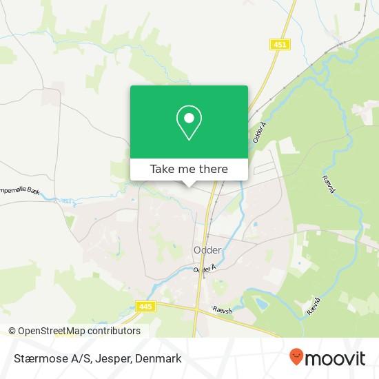 Stærmose A/S, Jesper map