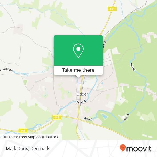 Majk Dans map