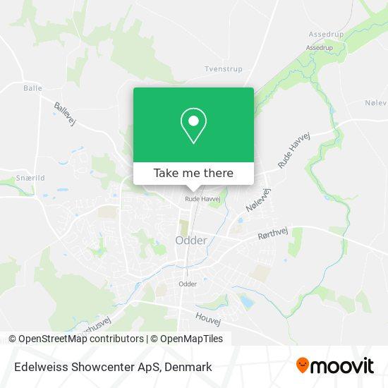 Edelweiss Showcenter ApS map