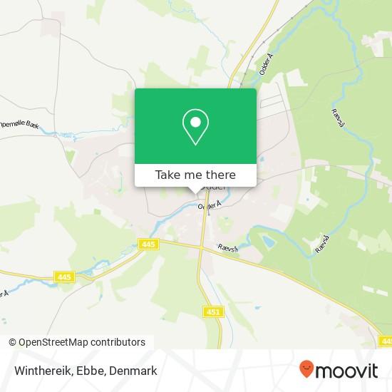Winthereik, Ebbe map