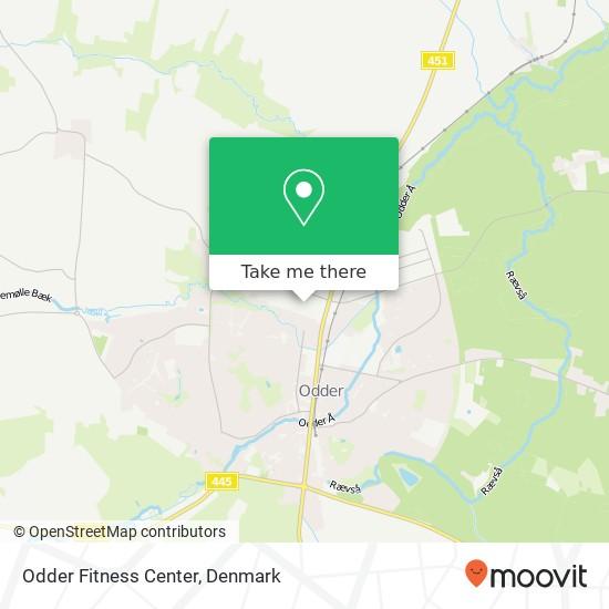 Odder Fitness Center Karte