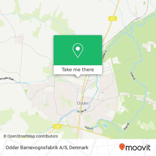 Odder Barnevognsfabrik A/S map