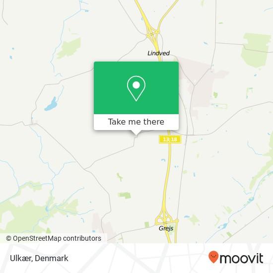 Ulkær map