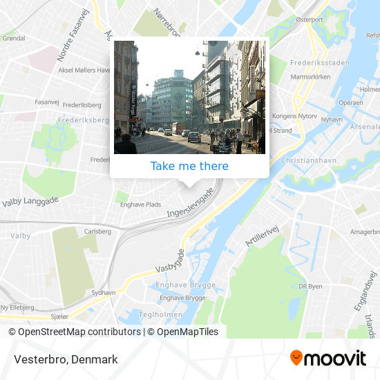 Luder istedgade Street guide: