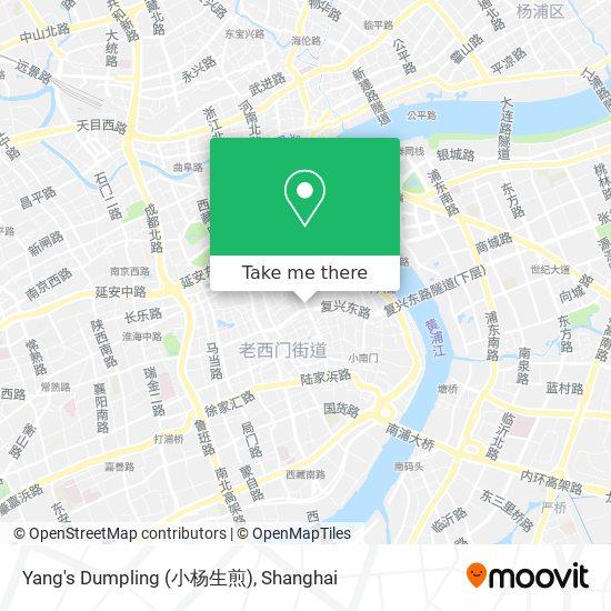 Yang's Dumpling (小杨生煎) map
