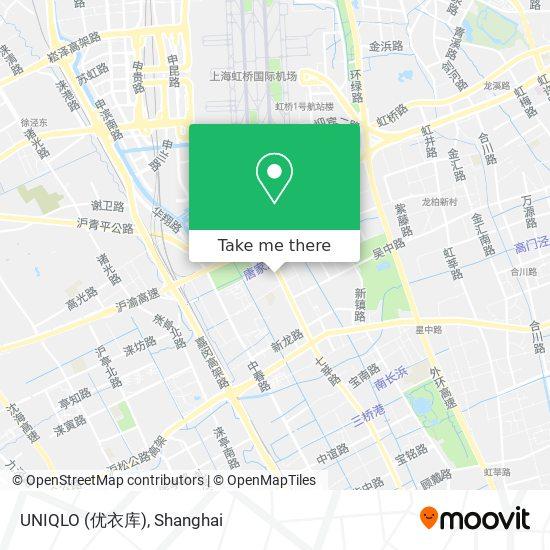 UNIQLO (优衣库) map