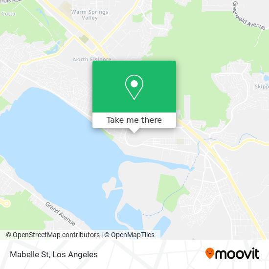 Mabelle St mapa