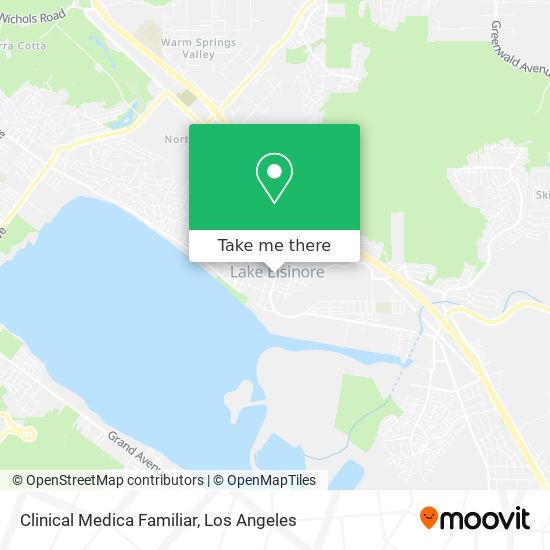 Clinical Medica Familiar mapa