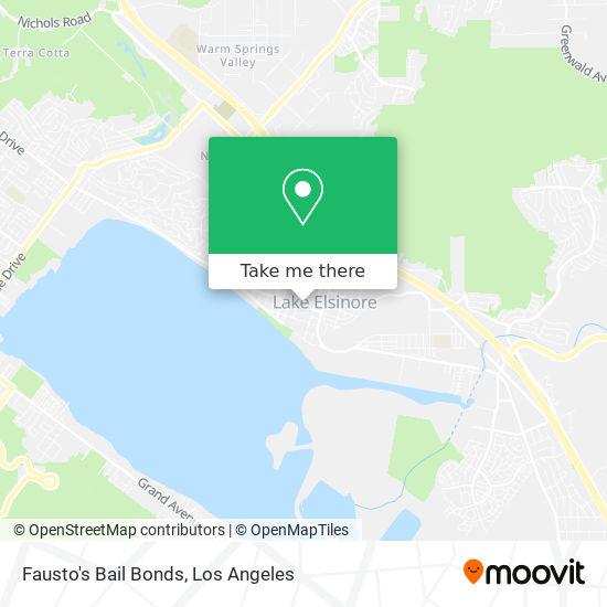 Fausto's Bail Bonds mapa