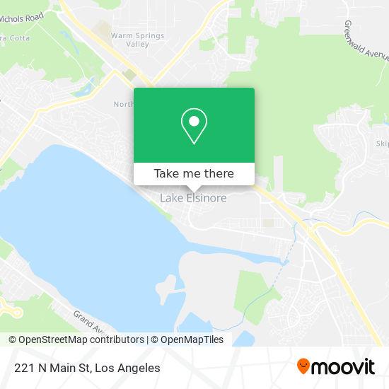 221 N Main St mapa