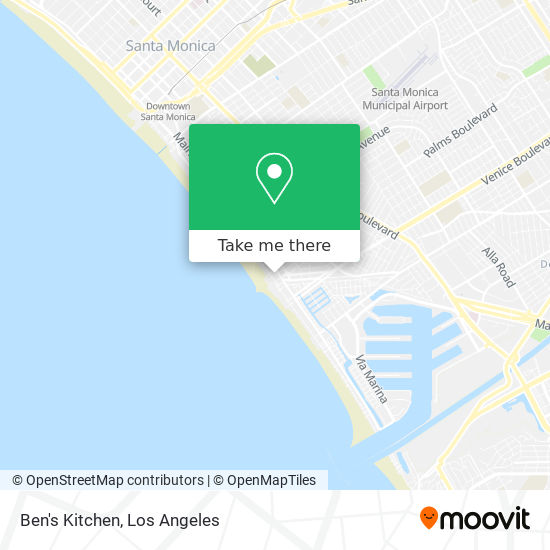 How To Get To Ben S Kitchen In Venice La By Bus Moovit