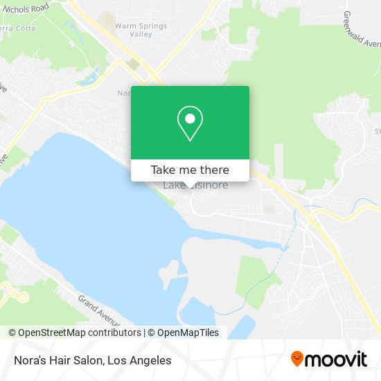 Nora's Hair Salon mapa