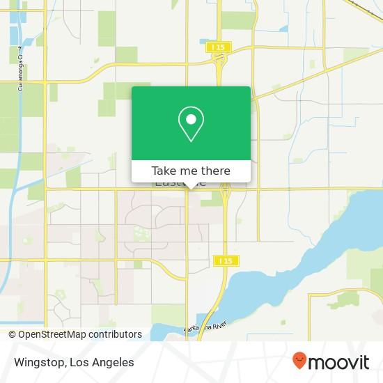 Wingstop mapa