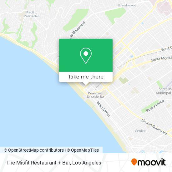 The Misfit Restaurant + Bar map