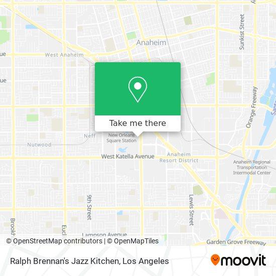 Mapa de Ralph Brennan's Jazz Kitchen