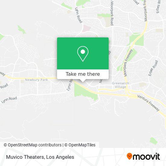 Mapa de Muvico Theaters
