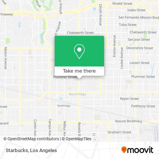 Starbucks地图