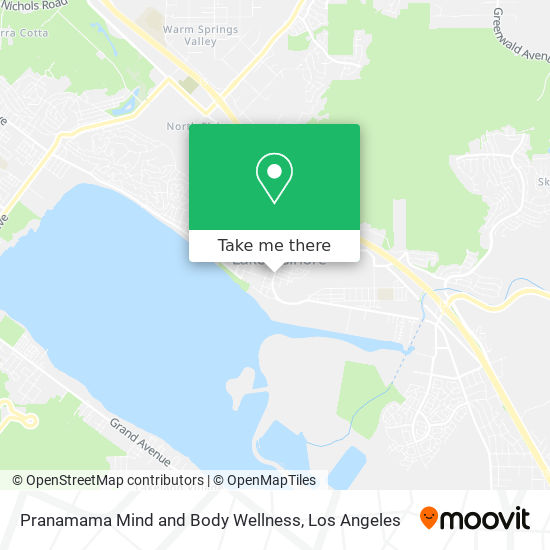 Pranamama Mind and Body Wellness mapa