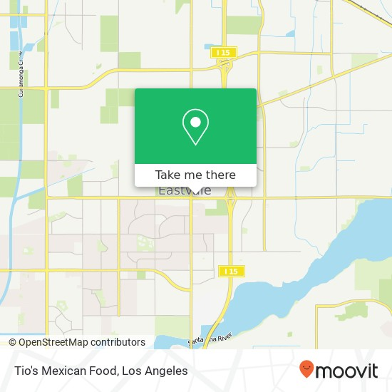 Tio's Mexican Food, 12571 Limonite Ave Mira Loma, CA 91752 plan