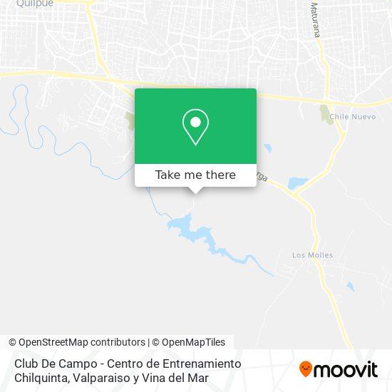 How To Get To Club De Campo Centro De Entrenamiento Chilquinta In Quilpue By Bus Moovit