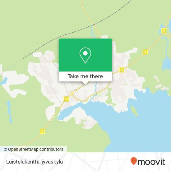 Luistelukenttä karta