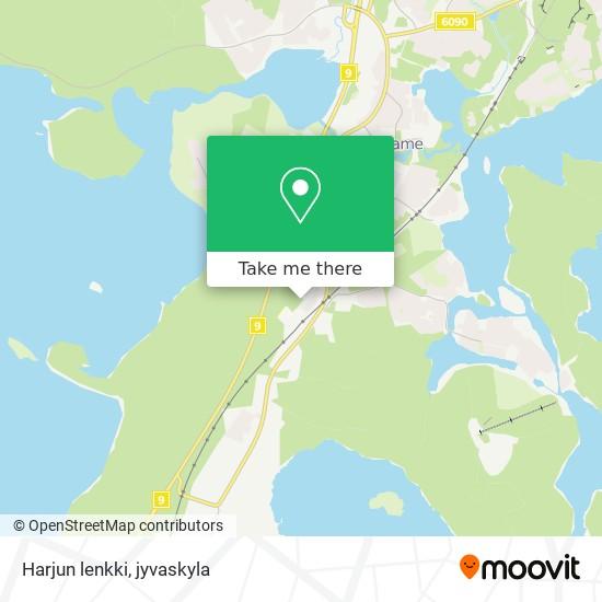 Harjun lenkki map