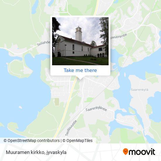 Muuramen kirkko map
