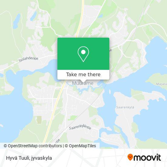 Hyvä Tuuli karta
