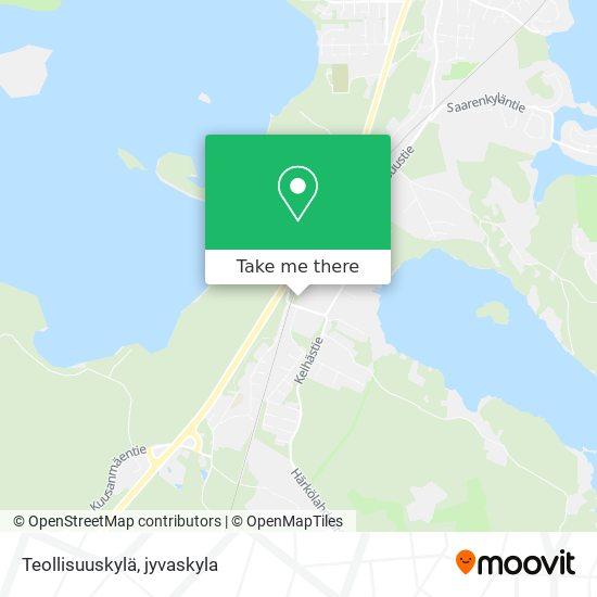 Teollisuuskylä map