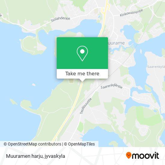 Muuramen harju map
