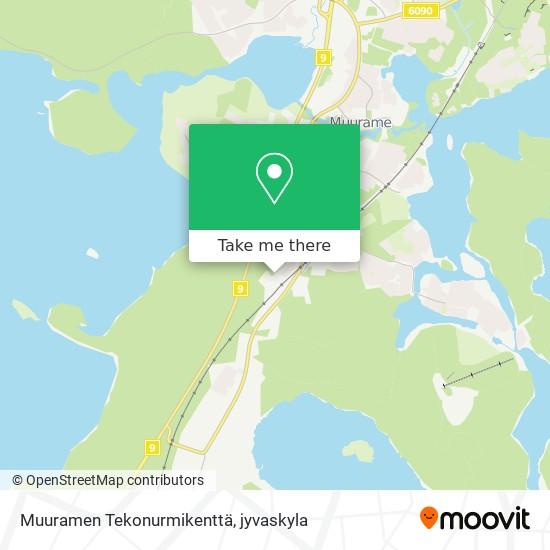 Muuramen Tekonurmikenttä map