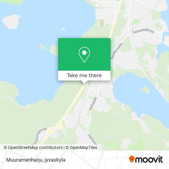 Muuramenharju map