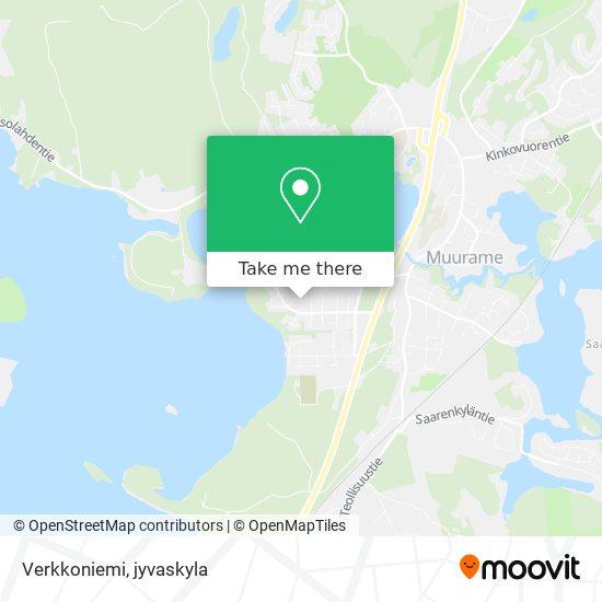 Verkkoniemi map